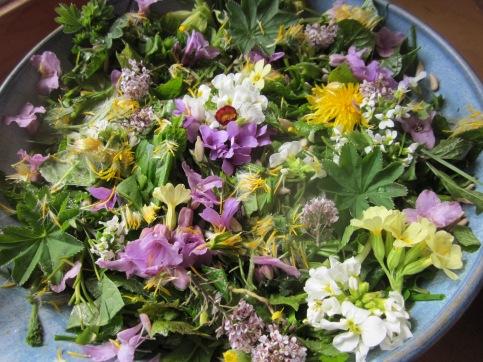 Blomstersalat